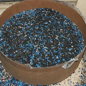 hdpe scrap granules