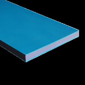 recycled blue trilaminate sheet